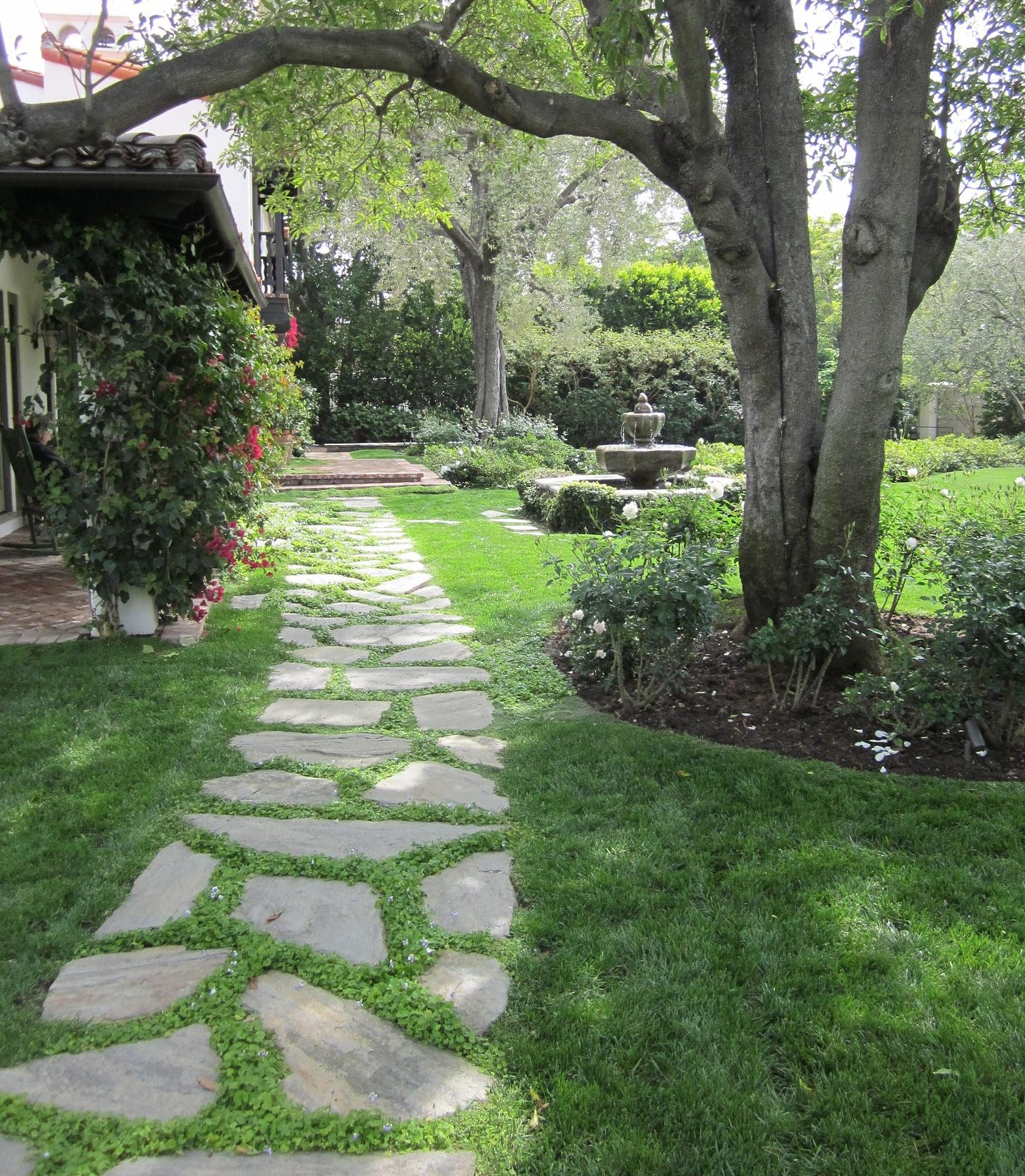 Granite Stone Pathways : Using natural stone in your garden knsp