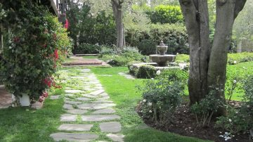 Using Natural Stone in your garden